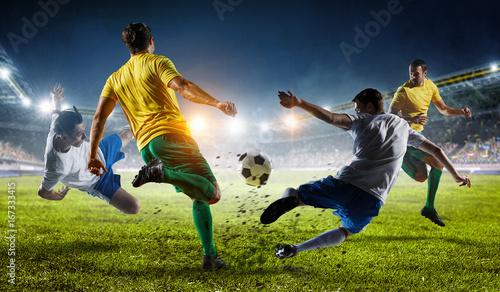 Photo Soccer best moments. Mixed media