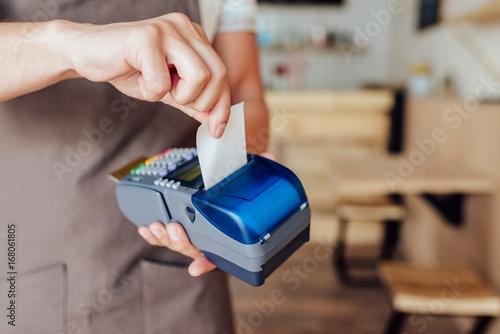 Obraz na płótnie payment terminal