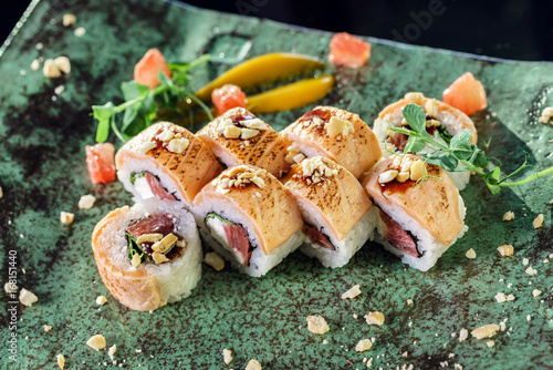 Fotografie, Obraz fusion sushi