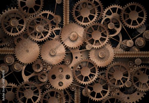 Fotografia Complex machinery