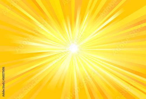 Obraz na plátně Sun light rays vector image