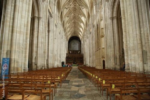 Obraz na plátně Winchester Cathedral. Opening April 8, 1093, the XI century.