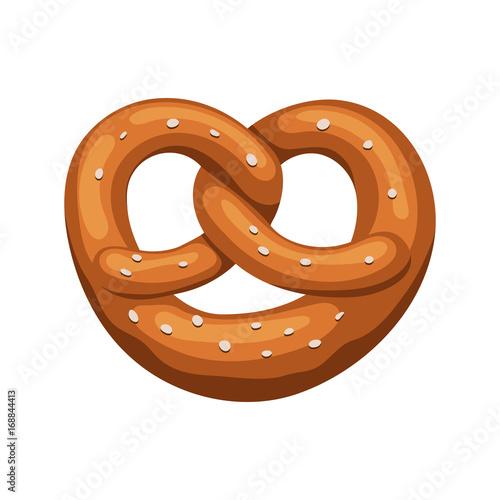 Fotografie, Obraz Bavarian pretzel icon