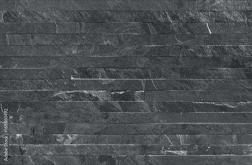Ταπετσαρία τοιχογραφία Strip parallels stone wall cladding seamless texture