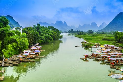 Fotografia Guilin Lijiang landscape scenery
