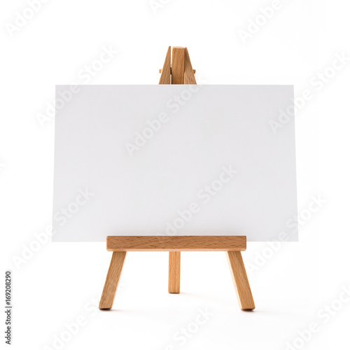 Photo small horizontal easel front.