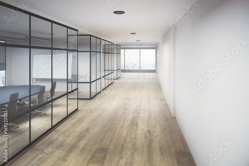 Billede på lærred Creative office hallway