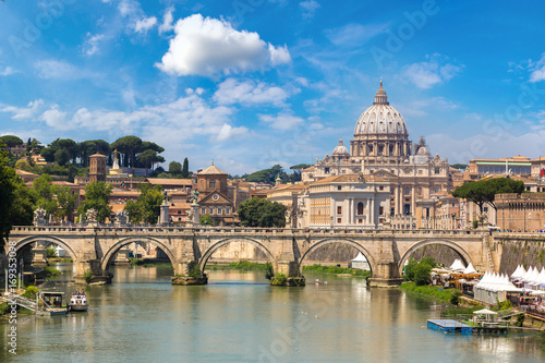 San Pietro basilica  in Rome, Italy Fototapeta