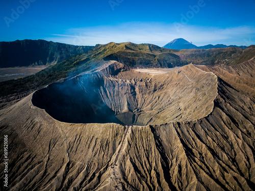 Fotografía Mountain Bromo active volcano crater in East Jawa, Indonesia