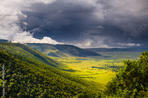 Cuadros en Lienzo Landscape in The Ngorongoro Crater - Tanzania