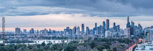 Fototapeta premium Panoramę Melbourne