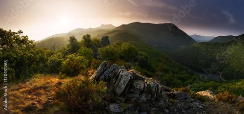 Fotografia Light and Shade - Geopark del Beigua, UNESCO protected, Savona Province, Liguria