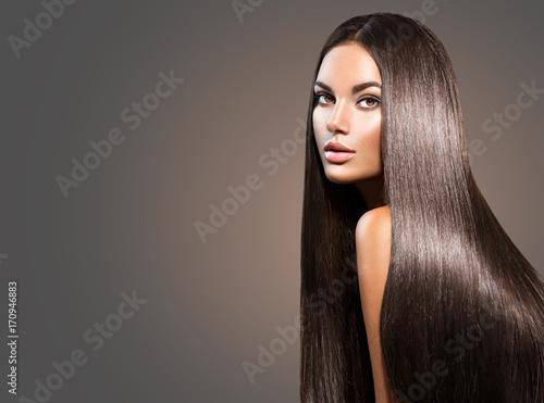 Canvas-taulu Beautiful long hair