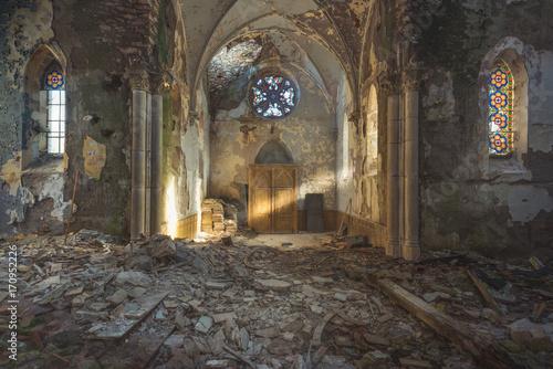Fotomural Lightbeam Old Church