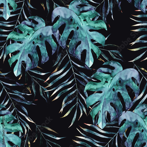 obrazujaca-modny-maksymalizm-tropikalny-na-ciemnym-tle