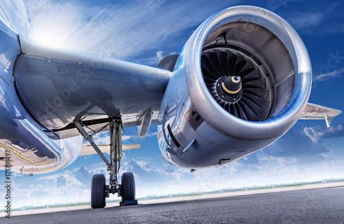 Photographie Moteur d'avion