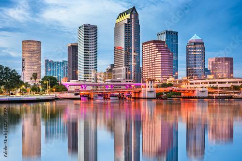 Fotografia, Obraz Tampa Bay, Florida, USA Skyline