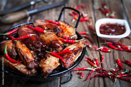 Bufalo style chicken wings