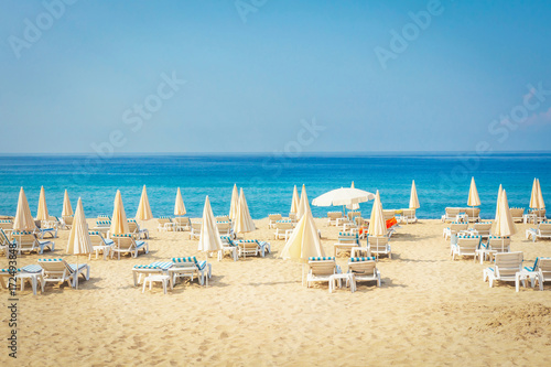 Fotografie, Obraz Resort tropical sea beach