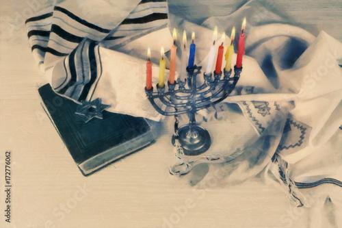 Obraz na płótnie z motywem judaistycznym