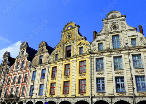 Obraz na płótnie Grande Place d'Arras