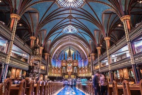 Fotografia Basilique notre dame de Montréal