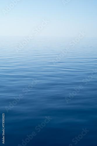 Foto Plain sea back ground