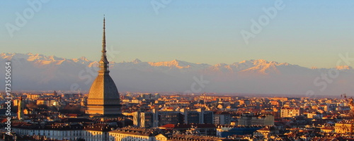 Fotografie, Obraz Torino - mole Antonelliana