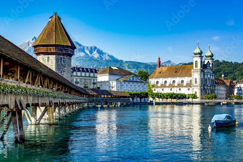 Stampa su Tela Lucerne in Switzerland