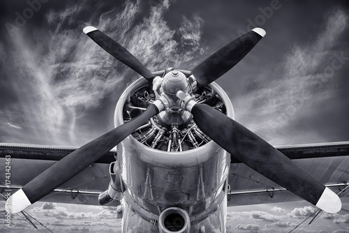 Canvas Print propeller