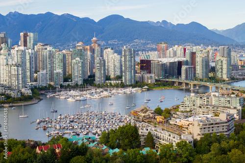 Fototapeta premium Śródmieście Vancouver, BC