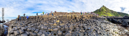 Slika na platnu Giant's Causeway in Northern Ireland