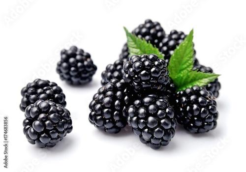 Sweet blackberries.