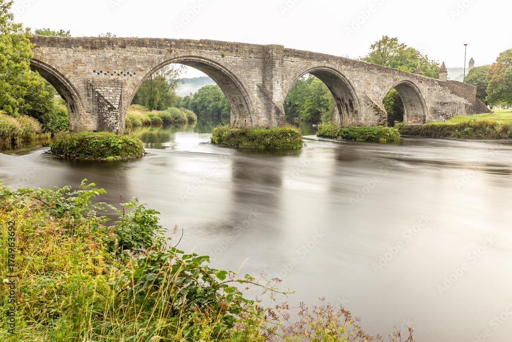 Stirling bridge in the morning, Scotland