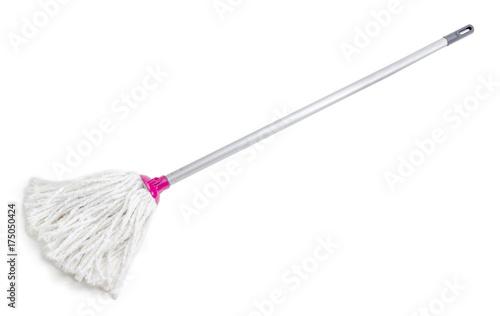Classic mop on a white background Fototapeta