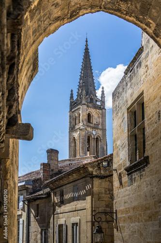 Saint-Emilion Monolithic Church Fototapet
