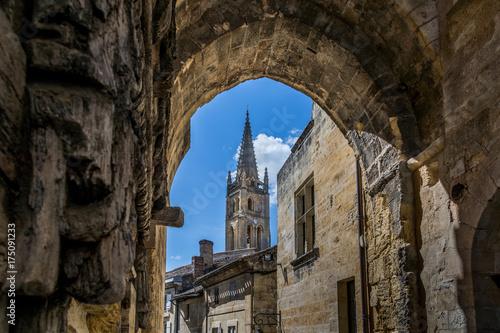 Fotografie, Tablou Saint-Emilion Monolithic Church