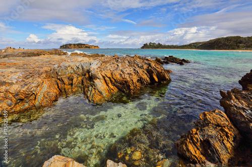 Views over to Jimmies Island Australia