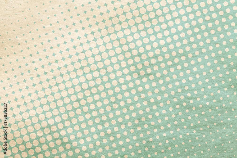 retro pattern on paper
