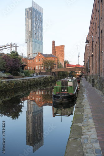 Beetham Tower in Manchester Poster Mural XXL