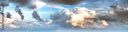 Fototapeta premium Niebo chmury sztuki wschodu słońca tło