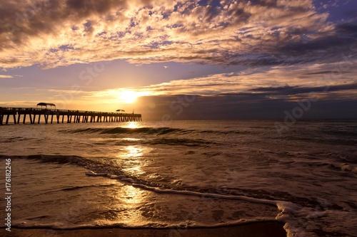 Sunrise in Lake Worth Beach