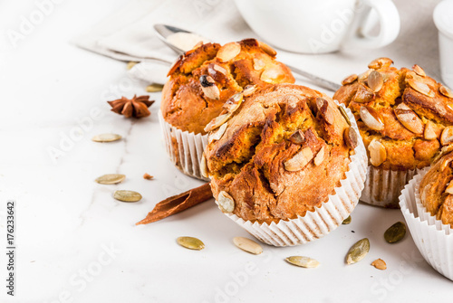 Obraz na płótnie Autumn and winter baked pastries