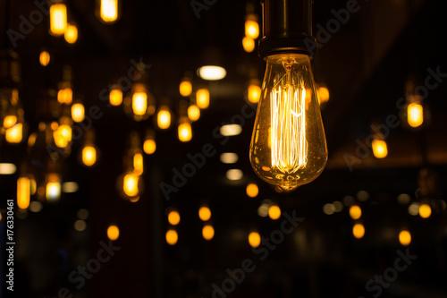 Fotografia, Obraz lighting decor, bulb