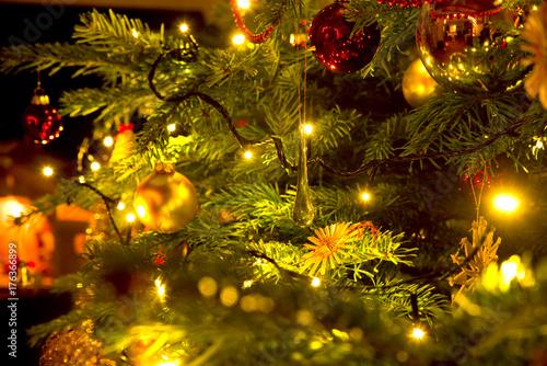 Weihnachtsbaum Poster Mural XXL