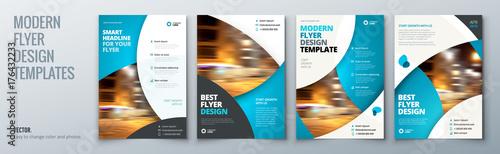Stampa su Tela Flyer template layout design