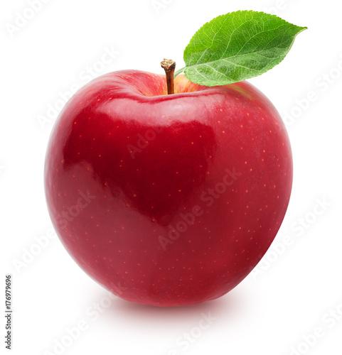 Canvastavla Isolated apple