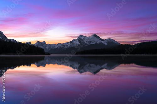 Maligne Sunrise