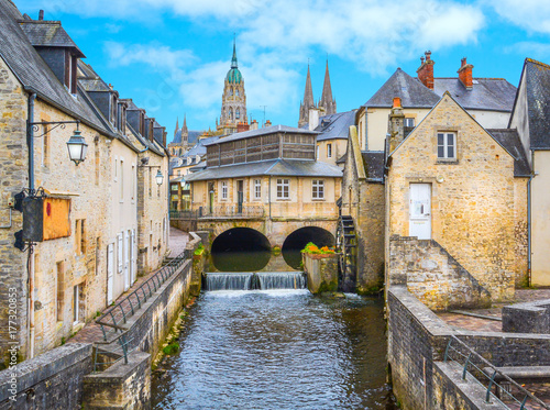 Fotografia Scenic view in Bayeux, Normandy, France.