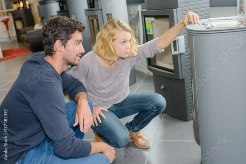 Photo clients looking for a furnace